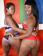 Girls black dark panthera